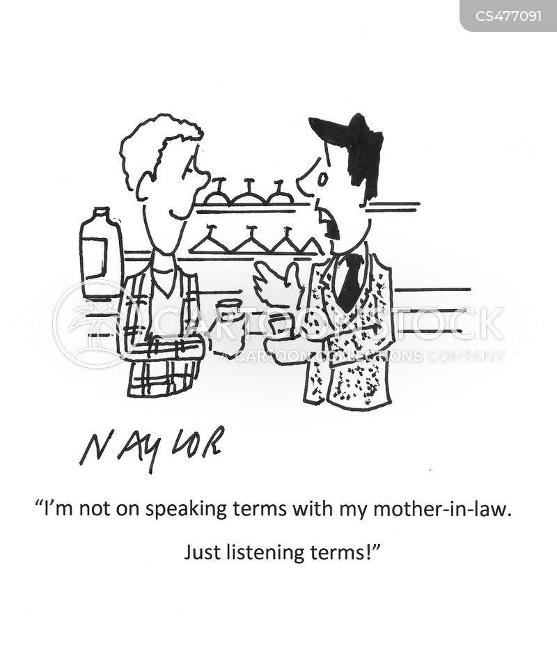 estranged family cartoon