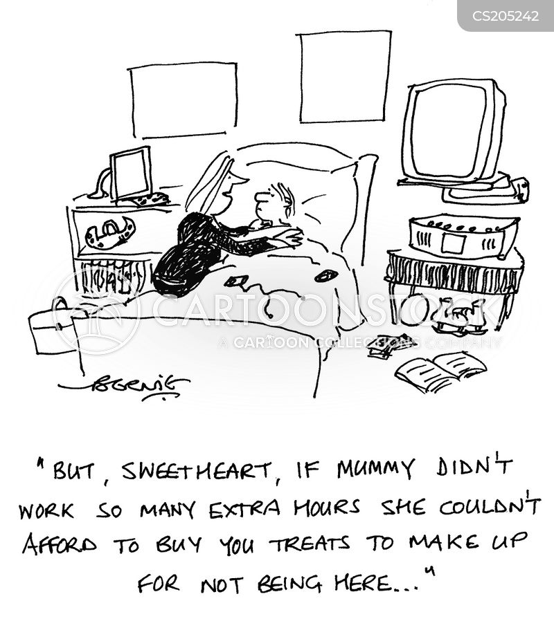 absent mothers cartoon