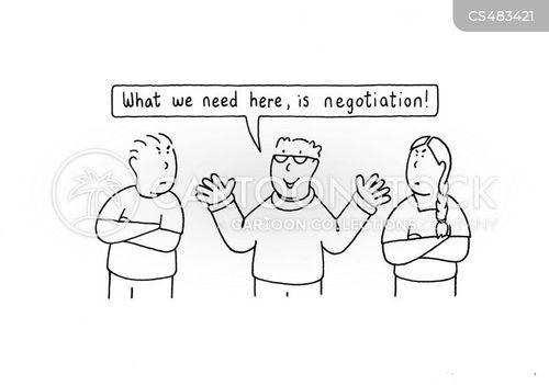 peacemakers cartoon