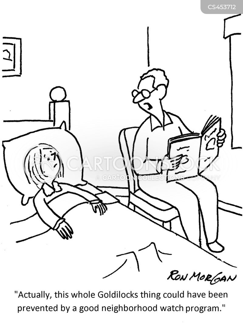 neighborhood watches cartoon
