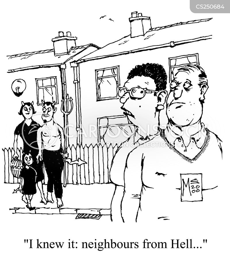 new neighbours cartoon