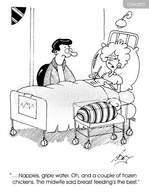 new borns cartoon