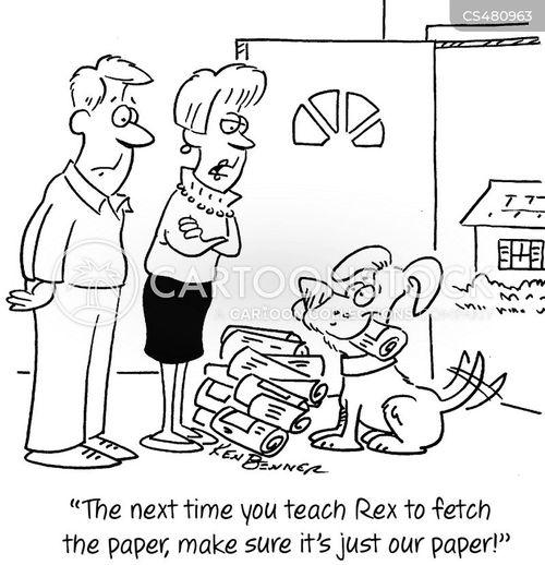 over enthusiastic cartoon