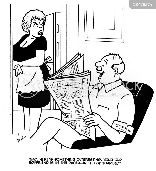 old flame cartoon