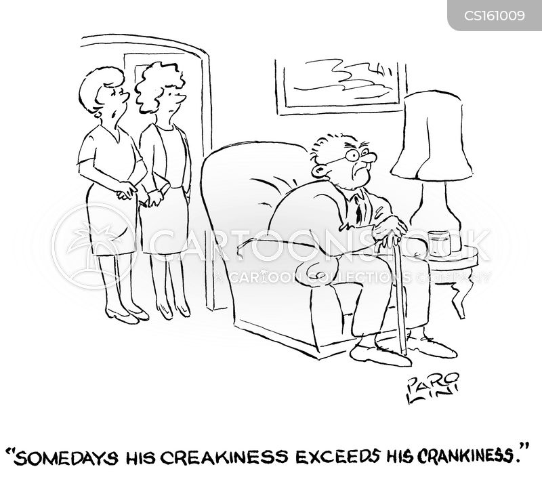 crankiness cartoon
