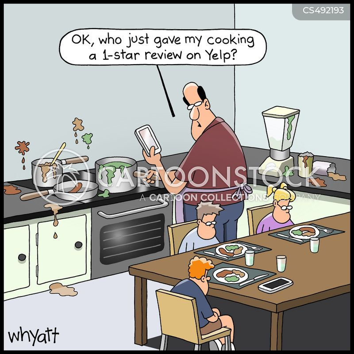 internet review cartoon