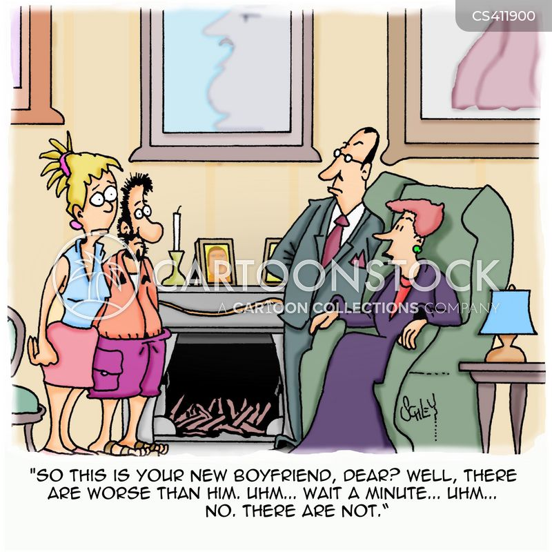 parental disapproval cartoon