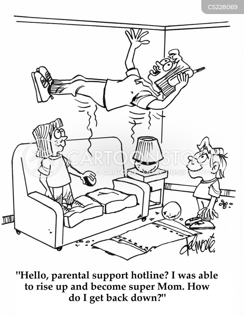 supermom cartoon