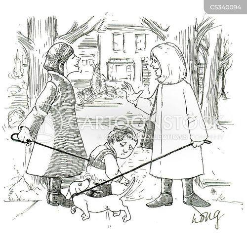 child safety cartoon