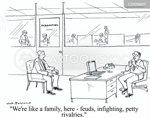 feuding cartoon
