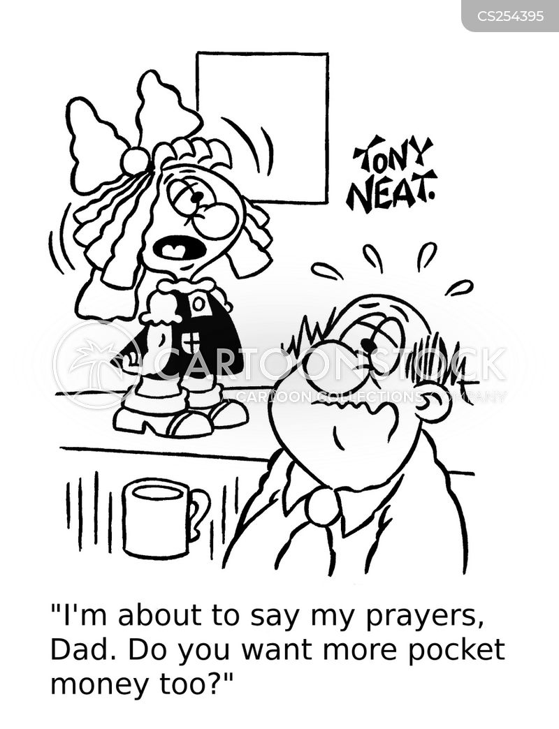 bedtime prayer cartoon