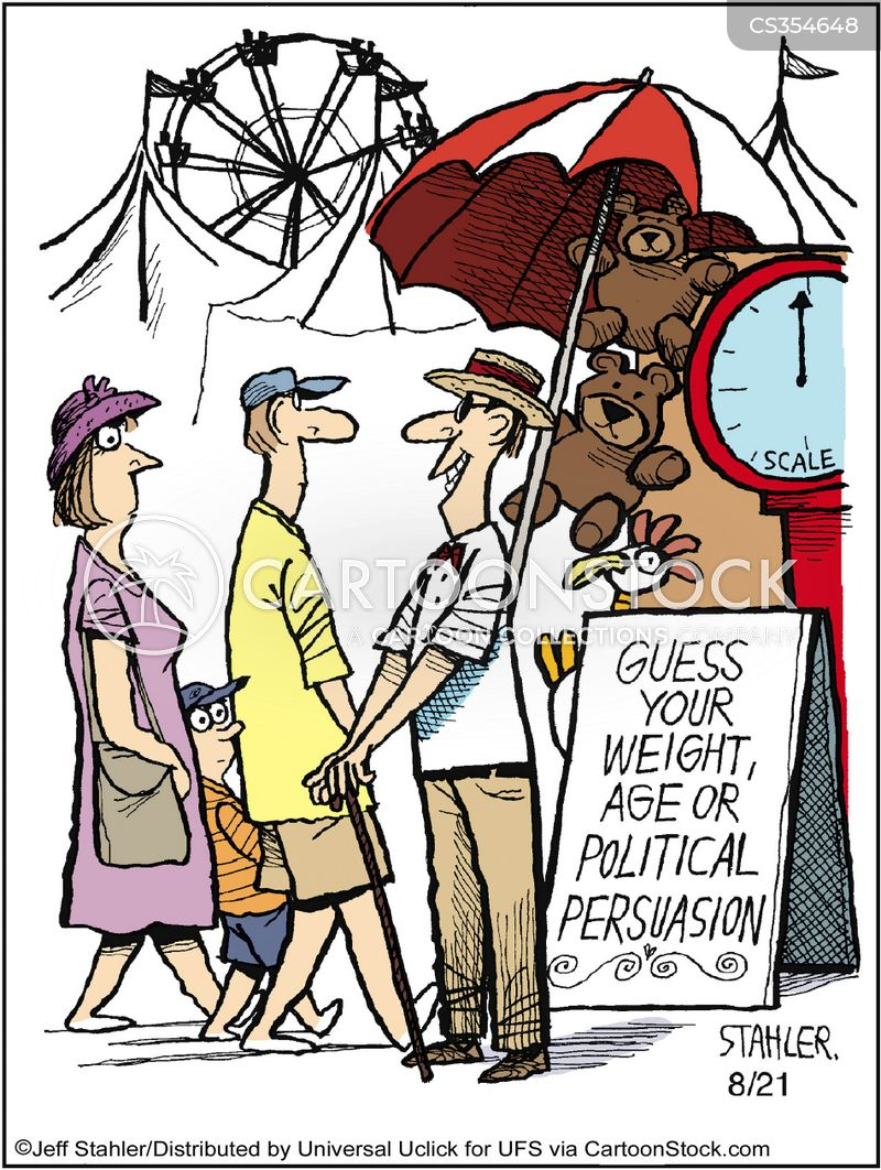 political persuasion cartoon