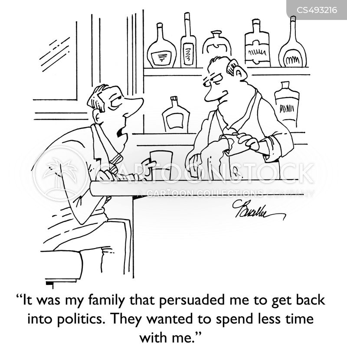 political ambition cartoon