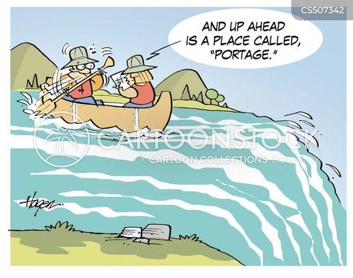 portage cartoon