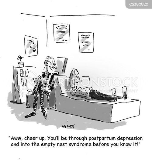 postnatal depression cartoon