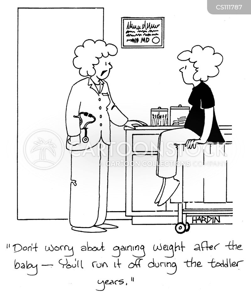 weight control cartoon