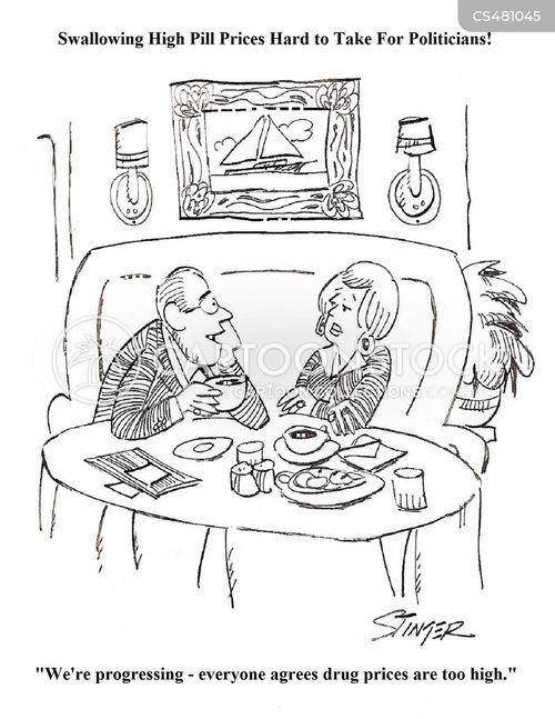 prescription price cartoon