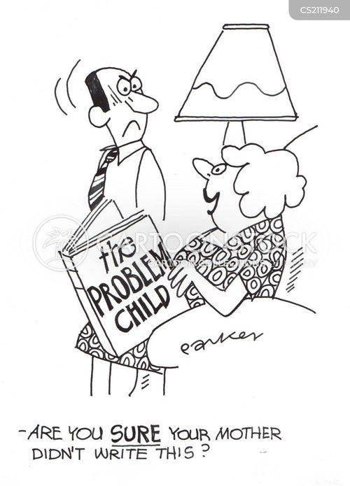 problem child cartoon