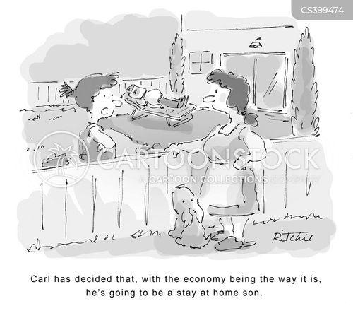 economic conditions cartoon