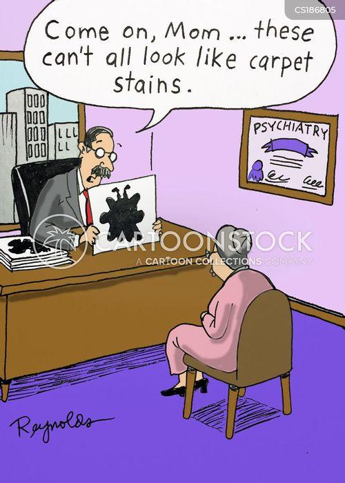 inkblot tests cartoon