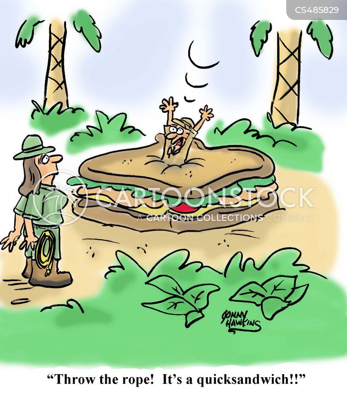 quicksands cartoon