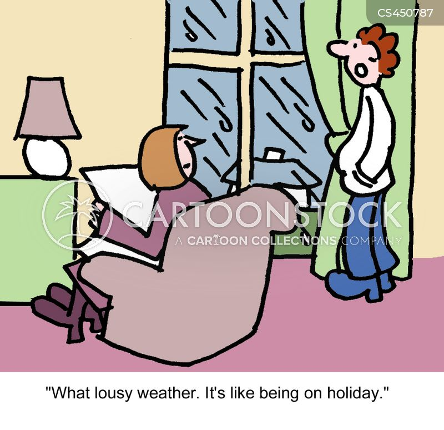 terrible weather cartoon