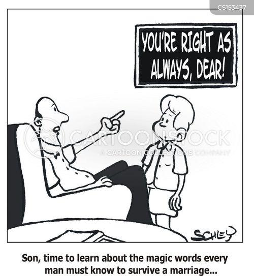 righteous cartoon