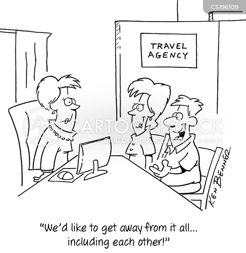 vacation plan cartoon