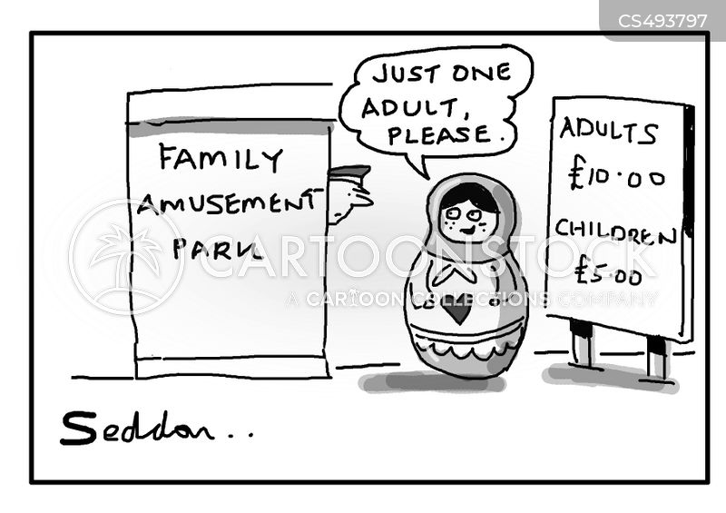 entry fees cartoon