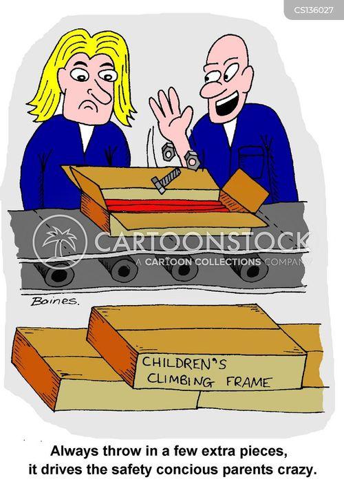 climbing frames cartoon