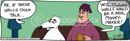 keeping secrets cartoon