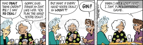 poker night cartoon