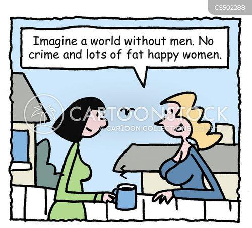 matriarchy cartoon