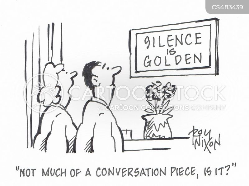 golden silence cartoon