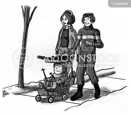 baby strollers cartoon