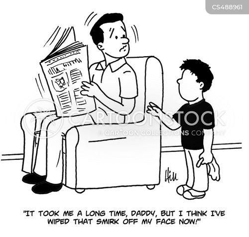 smirks cartoon