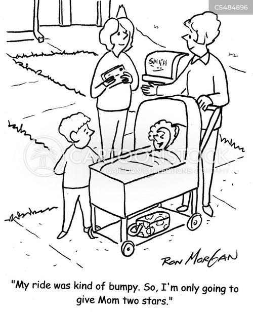 push-chairs cartoon