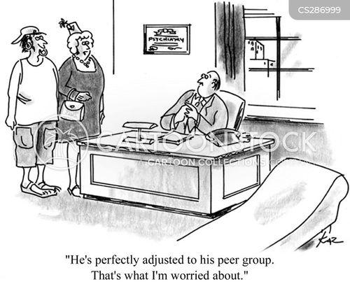 child psychologist cartoon