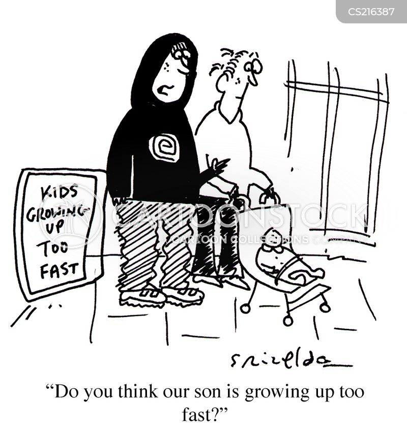 Grow Up Fast Cartoons And Comics Funny Pictures From Cartoonstock