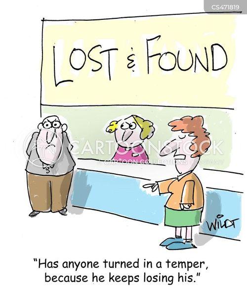 losing your temper cartoon
