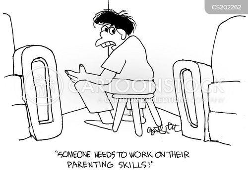 parenting skills cartoon