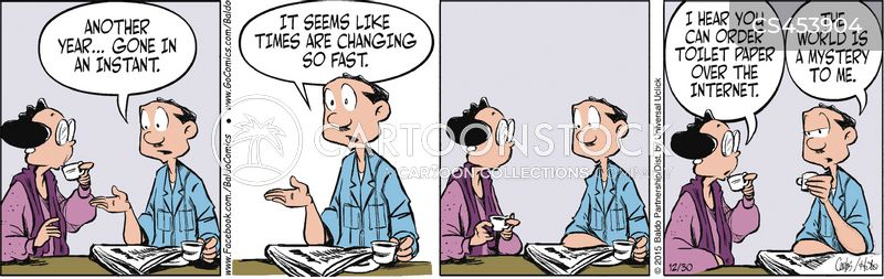 younger generations cartoon