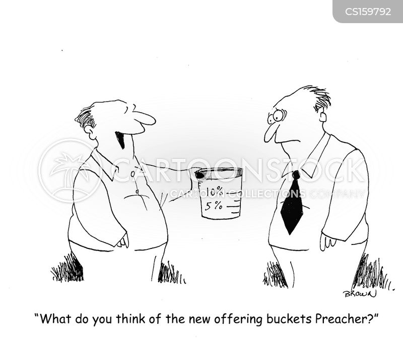 Church Offering Cartoons And Comics Funny Pictures From
