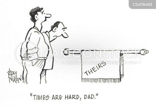 hard-times cartoon