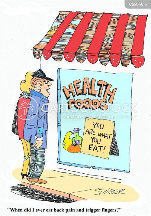health stores cartoon