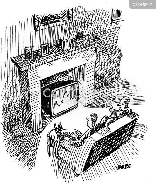 modern conveniences cartoon