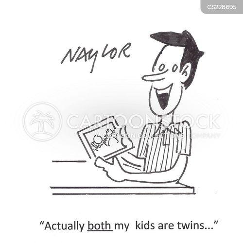 proud dad cartoon