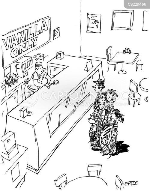 vanilla cartoon