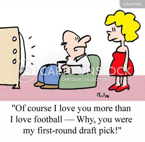 drafted cartoon