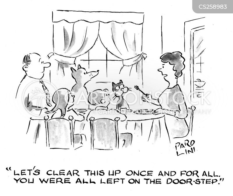 door step babies cartoon